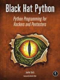 image of Black Hat Python : Python Programming for Hackers and Pentesters