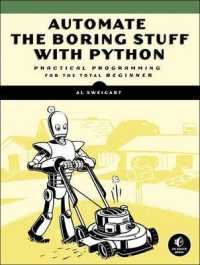 Link to an enlarged image of Automate the Boring Stuff with Python : Practical Programming for Total Beginners