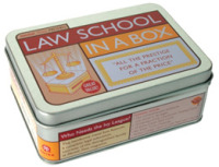 Link to an enlarged image of Law School in a Box : All the Prestige for a Fraction of the Price (Mental Floss Presents) (BOX NOV PC)