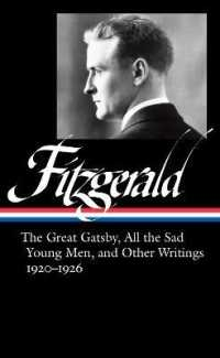 Link to an enlarged image of F. Scott Fitzgerald : The Great Gatsby, All the Sad Young Men & Other Writings, 1920-26 (Library of America)