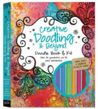 Link to an enlarged image of Creative Doodling & Beyond Doodle Book & Kit : More than 20 inspiring prompts and projects for turning simple doodles into beautiful works of art (ACT BOX NO)
