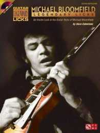 Link to an enlarged image of Michael Bloomfield : An inside Look at the Guitar Style of Michael Bloomfield (Guitar Legendary Licks) (Paperback + Spoken Word Compact Disc)