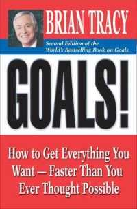 Link to an enlarged image of Goals! : How to Get Everything You Want - Faster than You Ever Thought Possible (2nd)