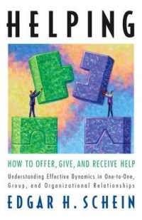 Link to an enlarged image of Helping : How to Offer, Give, and Receive Help (Reprint)