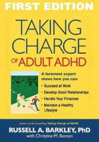 Link to an enlarged image of Taking Charge of Adult ADHD