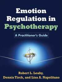 Link to an enlarged image of Emotion Regulation in Psychotherapy : A Practitioner's Guide