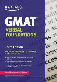 Link to an enlarged image of Kaplan GMAT Verbal Foundations (Kaplan Gmat Verbal Foundations) (3rd CSM Paperback + )