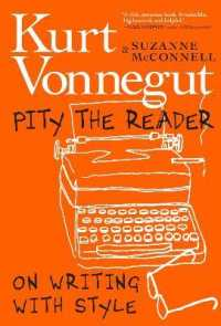 Link to an enlarged image of Pity the Reader : On Writing with Style