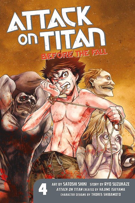 Link to an enlarged image of Attack on Titan before the Fall 4 (Attack on Titan (includes all Subseries))