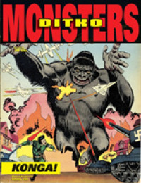 Link to an enlarged image of Ditko Monsters : Konga! (Ditko Monsters)