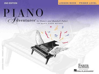 Link to an enlarged image of Piano Adventures - Primer Level : Lesson Book (Piano Adventures)