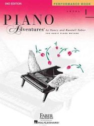 Link to an enlarged image of Piano Adventures - Level 1 : Performance Book: a Basic Piano Method (Piano Adventures)