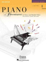 Link to an enlarged image of Piano Adventures - Level 4 : Lesson Book (Piano Adventures)