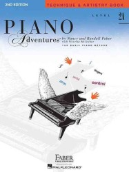 Link to an enlarged image of Piano Adventures Technique and Artistry Book : Level 2A, the Basic Piano Method (Piano Adventures)