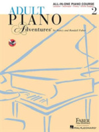 Link to an enlarged image of Adult Piano Adventures All-in-One Lesson Book 2 : Solos, Technique, Theory (Piano Adventures) (Spiral)