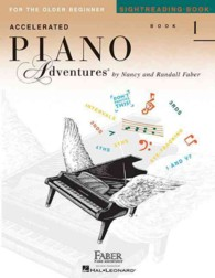 Link to an enlarged image of Accelerated Piano Adventures Sightreading Book 1 : For the Older Beginner (Accelerated Piano Adventures)