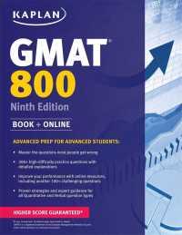 Link to an enlarged image of Kaplan GMAT 800 : Advanced Prep for Advanced Students (Kaplan Gmat Advanced) (9th)