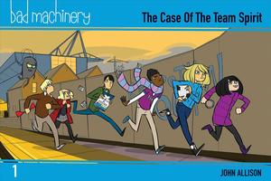Link to an enlarged image of Bad Machinery 1 : The Case of the Team Spirit (Bad Machinery)