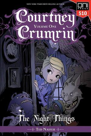 Link to an enlarged image of Courtney Crumrin 1 : The Night Things (Courtney Crumrin)