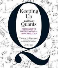 Link to an enlarged image of Keeping Up with the Quants (7-Volume Set) : Your Guide to Understanding + Using Analytics (Unabridged)