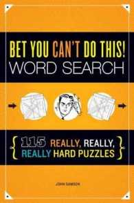 Link to an enlarged image of Bet You Can't Do This! : Word Search: 115 Really, Really, Really Hard Puzzles (ACT CSM)