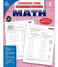 Link to an enlarged image of Common Core Connections Math, Grade 5 (Common Core Connections) (Workbook)
