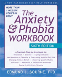 Link to an enlarged image of The Anxiety & Phobia (6th CSM Workbook)