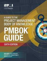 Link to an enlarged image of A Guide to the Project Management Body of Knowledge: English Ed. (Pmbok Guide)) (6th)