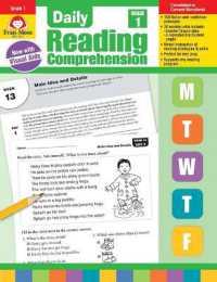Books Kinokuniya: Daily Reading Comprehension, Grade 1 (Daily
