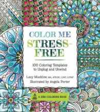 Books Kinokuniya Color Me Stress Free Adult Coloring Book