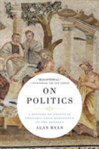Link to an enlarged image of On Politics : A History of Political Thought: from Herodotus to the Present