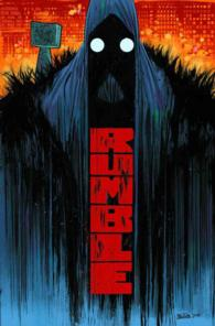 Link to an enlarged image of Rumble 1 : What Color of Darkness? (Rumble)