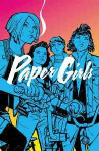 Link to an enlarged image of Paper Girls 1 (Paper Girls)