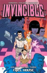Link to an enlarged image of Invincible 23 : Full House (Invincible)