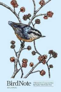 Link to an enlarged image of BirdNote Journal : A Birdwatcher's Companion from the Popular Public Radio Show (GJR)