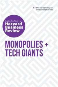 Link to an enlarged image of Monopolies + Tech Giants (The Insights You Need from Harvard Business Review)
