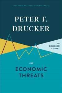 Link to an enlarged image of Peter F. Drucker on Economic Threats