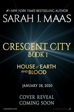 Books Kinokuniya House Of Earth And Blood Crescent City Maas Sarah J 9781635574043