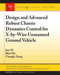 Books Kinokuniya: Design and Advanced Robust Chassis Dynamics