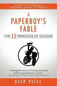 Link to an enlarged image of A Paperboy's Fable : The 11 Principles of Success
