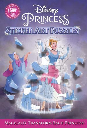 Disney Princess Sticker Art Puzzles 9781684128716