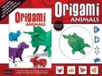 Link to an enlarged image of Origami Animals (Gift Box) -- Kit