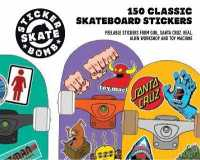 Link to an enlarged image of Stickerbomb Skate : 150 Classic Skateboard Stickers (CSM STK)