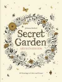 Books Kinokuniya Secret Garden Artists Edition A Pull Out And