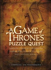 Link to an enlarged image of Game of Thrones Puzzle Quest : Riddles, Enigmas and Quizzes -- Hardback