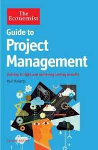 Link to an enlarged image of Economist Guide to Project Management 2nd Edition : Getting it right and achieving lasting benefit -- Paperback / softback (Main)