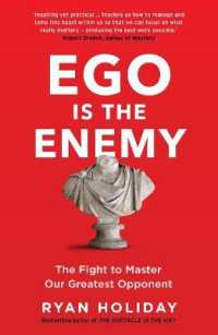 Link to an enlarged image of Ego is the Enemy : The Fight to Master Our Greatest Opponent -- Paperback / softback (Main)