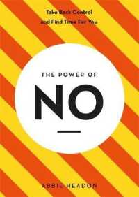 Link to an enlarged image of The Power of No