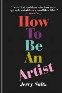 Link to an enlarged image of How to Be an Artist : The New York Times bestseller -- Hardback