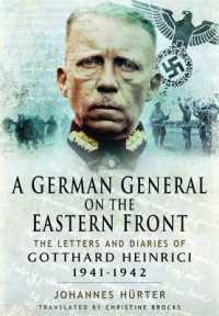 Link to an enlarged image of A German General on the Eastern Front : The Letters and Diaries of Gotthard Heinrici, 1941-1942